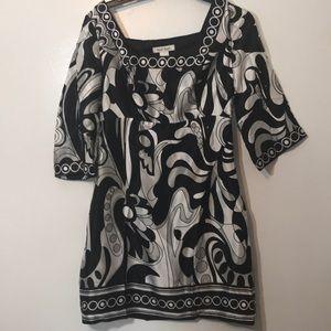 🆕White House Black Market Silk Dress Sz 0